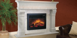 Polynesia Mantel with Senator Legs