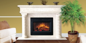 Polynesia Mantel with Aspis Legs