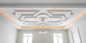 TIC-350 light cove and TIC-1105 ceiling trim