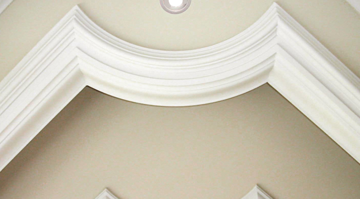 "5"" CTR-512 cornice moulding and TIC-937 ceiling trim"