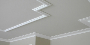 "9"" IKN-D02 cornice moulding and TIC-937 ceiling trim"