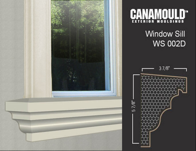 Exterior Window Sills