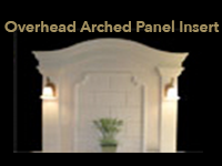 arched panel insert