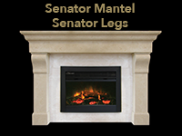 senator mantel with senator legs