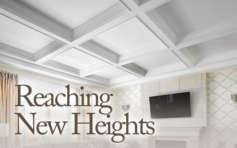 coffered ceilings are within reach