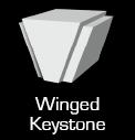 Winged Keystone