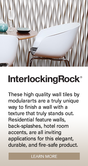 Interlocking Rock Wall Tiles
