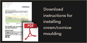 Download instruction for installing crown/cornice moulding