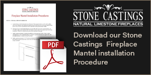 Download our stone castings fireplace mantel installation procedure