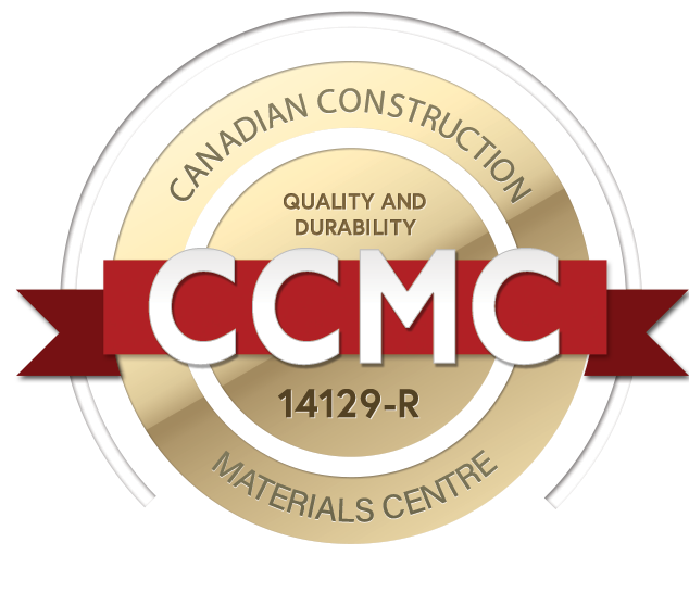 CCMC Seal - foam interior exterior crown trim moulding